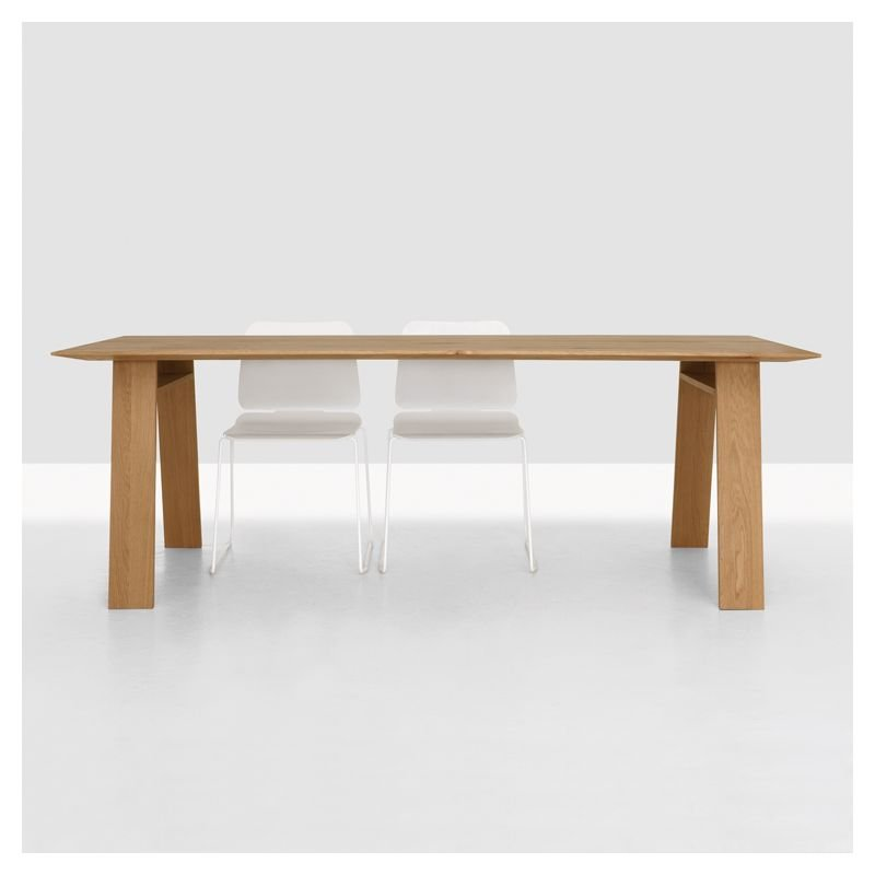 Bondt table rectangulaire design bois zeitraum - Service de table rectangulaire ...