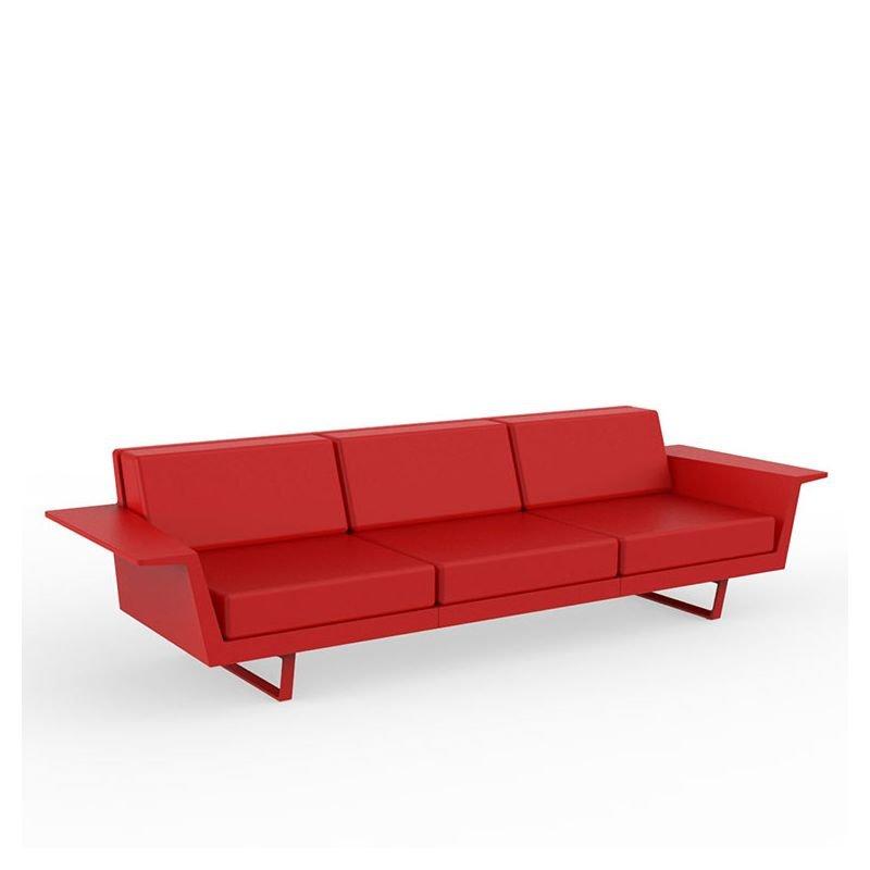 delta canap ext rieur 3 pl vondom design jorge pens. Black Bedroom Furniture Sets. Home Design Ideas