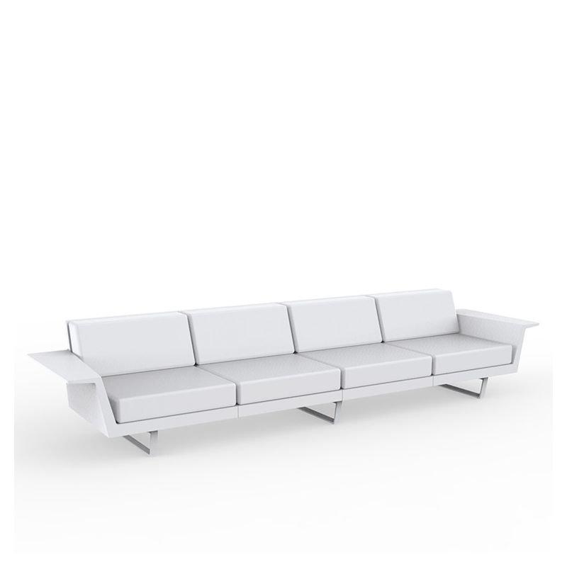 flat canap droit 4 places canap outdoor vondom. Black Bedroom Furniture Sets. Home Design Ideas
