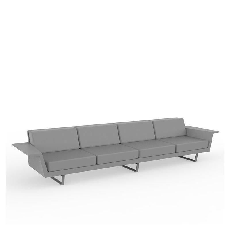 delta canap ext rieur 4 pl vondom sofa droit design. Black Bedroom Furniture Sets. Home Design Ideas