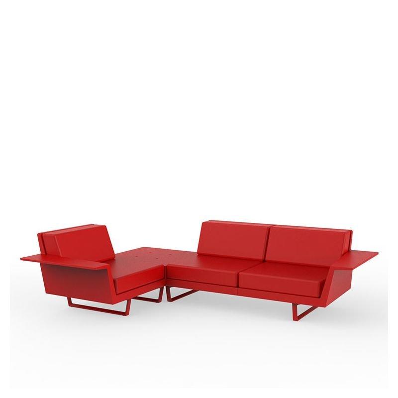 delta canap d 39 angle ext rieur vondom 3 places design. Black Bedroom Furniture Sets. Home Design Ideas