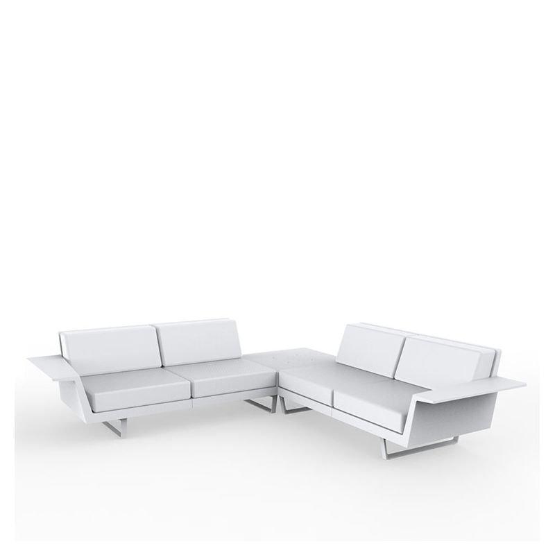 delta canap d 39 angle ext rieur vondom 4 places design. Black Bedroom Furniture Sets. Home Design Ideas
