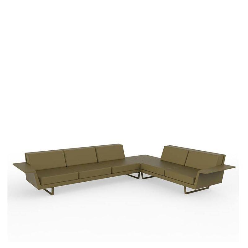 delta canap d 39 angle ext rieur vondom 5 places design. Black Bedroom Furniture Sets. Home Design Ideas