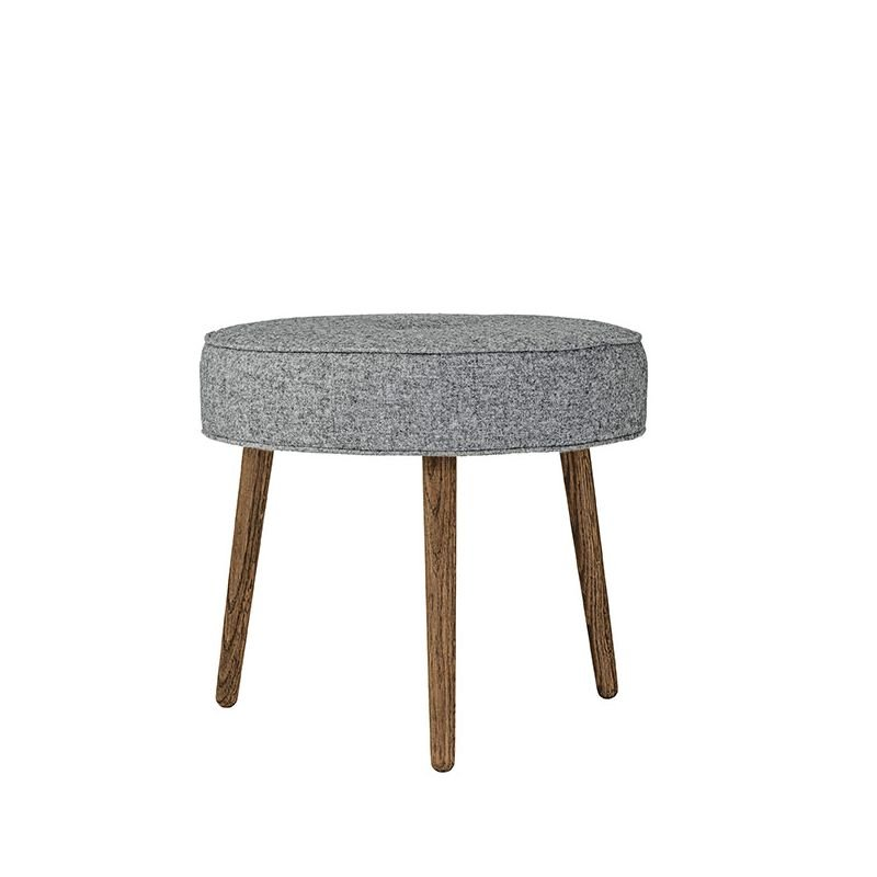 button pouf tabouret rond rembourr bloomingville. Black Bedroom Furniture Sets. Home Design Ideas