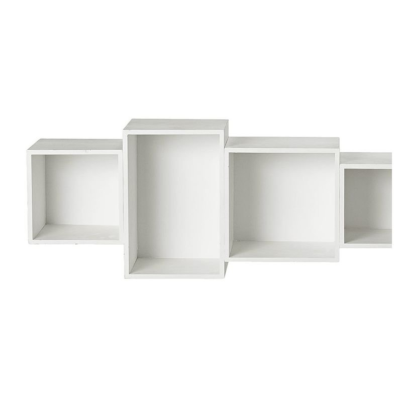 etagere murale blanche latest tagres murales nuage spacielle lot de la redoute interieurs with. Black Bedroom Furniture Sets. Home Design Ideas