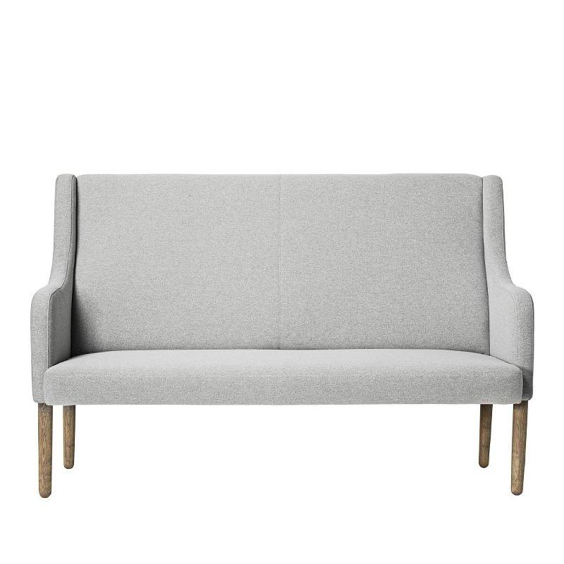 rest canap 2 places r tro gris bloomingville. Black Bedroom Furniture Sets. Home Design Ideas