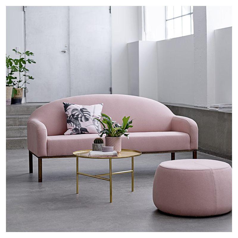 divine canap 2 pl gris rose design bloomingville. Black Bedroom Furniture Sets. Home Design Ideas