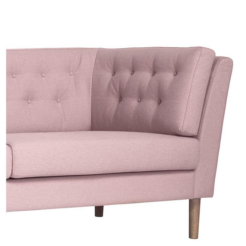 pause canap 3 places tissu capitonn bloomingville. Black Bedroom Furniture Sets. Home Design Ideas