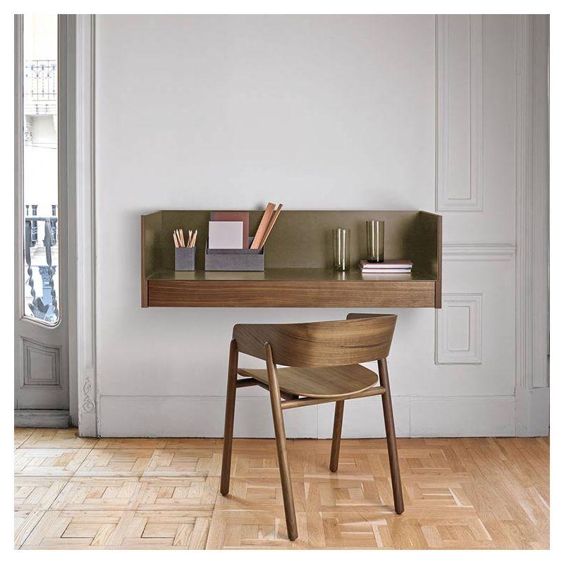 stockholm bureau mural punt bois alu design m ruiz. Black Bedroom Furniture Sets. Home Design Ideas