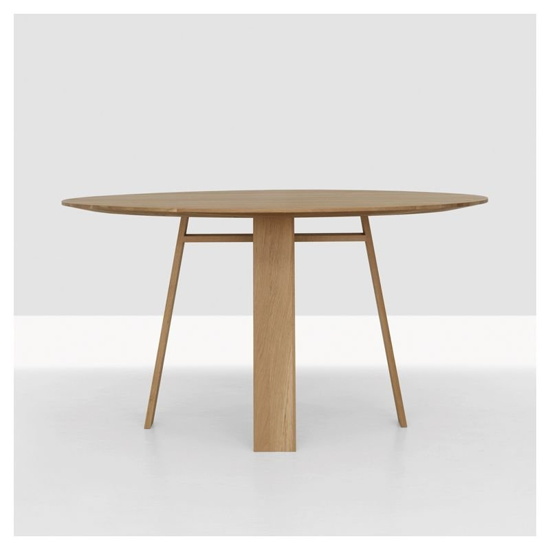 Table ronde bois massif design bondt table ronde design for Table design ronde