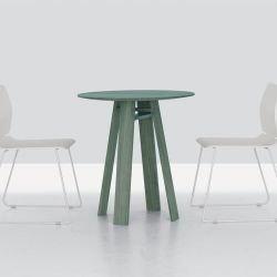 Table ronde en bois teinté menthe BONDT CAFE Zeitraum