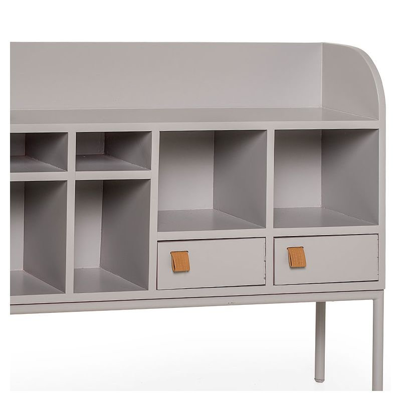 cute drawer rangement bas gris bloomingville. Black Bedroom Furniture Sets. Home Design Ideas