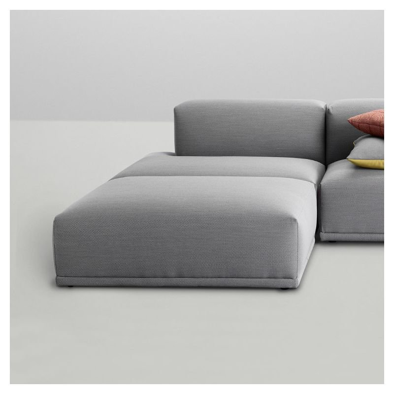 connect pouf repose pieds tissu design muuto. Black Bedroom Furniture Sets. Home Design Ideas