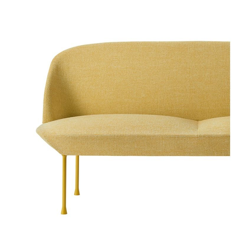 oslo canap 2 places tissu rembourr design muuto. Black Bedroom Furniture Sets. Home Design Ideas