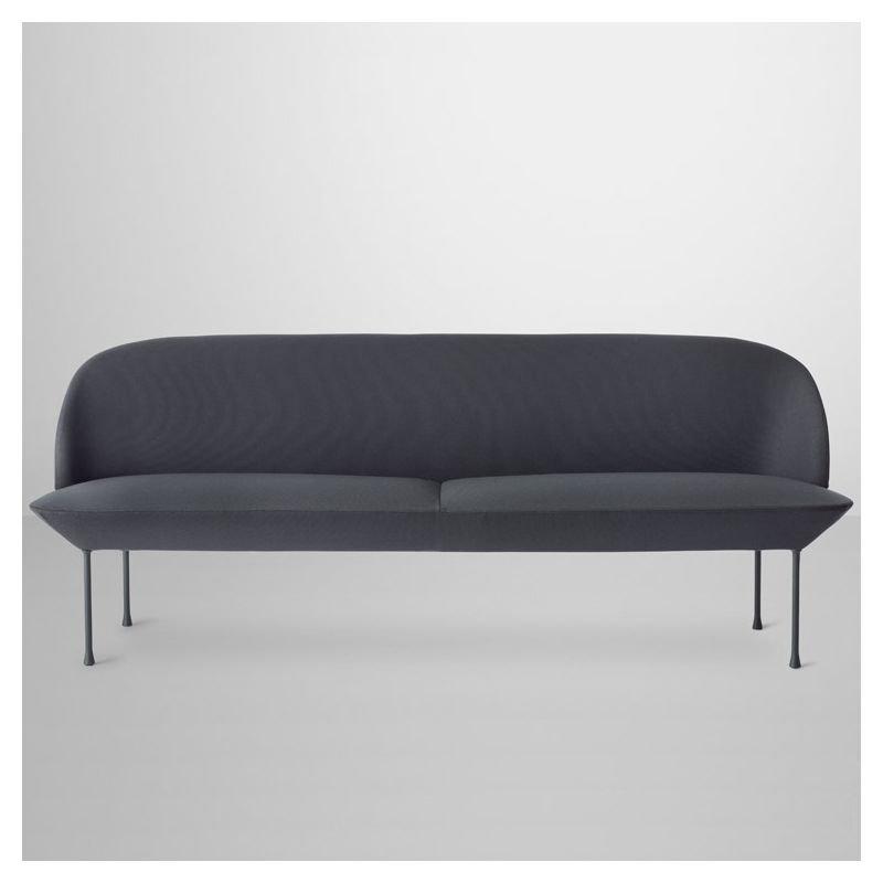 oslo canap 3 places tissu rembourr design muuto. Black Bedroom Furniture Sets. Home Design Ideas