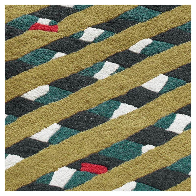 lattis tapis cr ateur 100 laine toulemonde bochart. Black Bedroom Furniture Sets. Home Design Ideas