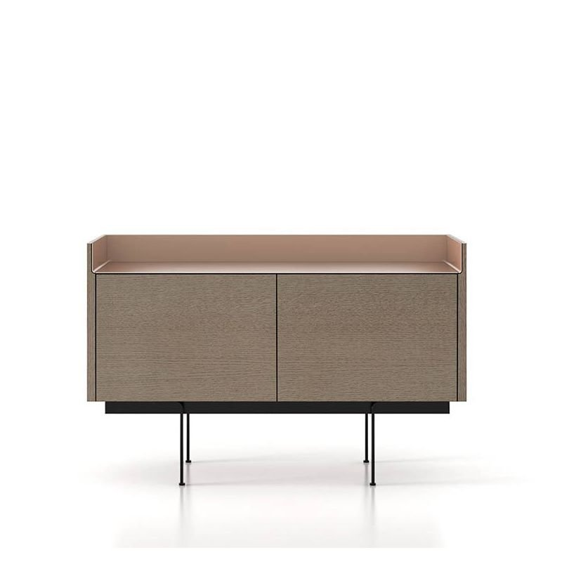 Stockholm buffet bas punt 2 portes design mario ruiz for Buffet bas design