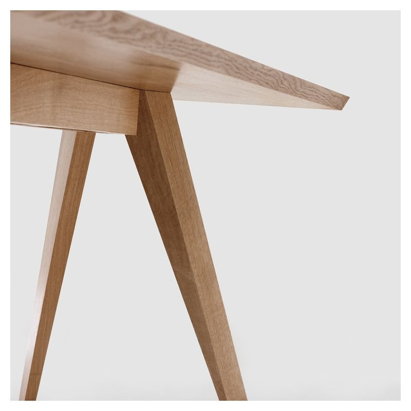 Cena table rectangulaire bois massif zeitraum for Table rectangulaire bois