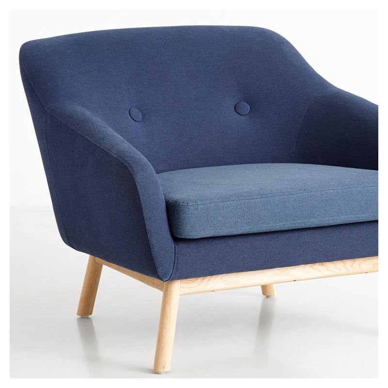 peppy salon tissu woud canap fauteuil bleu. Black Bedroom Furniture Sets. Home Design Ideas