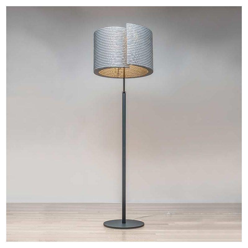 build luce lampe de sol carton co design staygreen. Black Bedroom Furniture Sets. Home Design Ideas