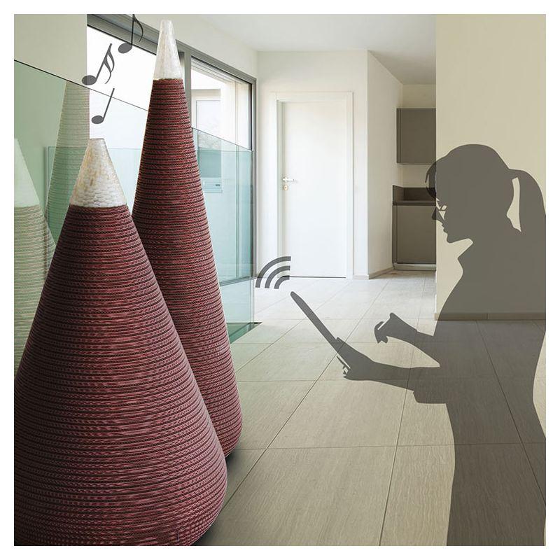 jarres music vase audio bluetooth xxl staygreen. Black Bedroom Furniture Sets. Home Design Ideas