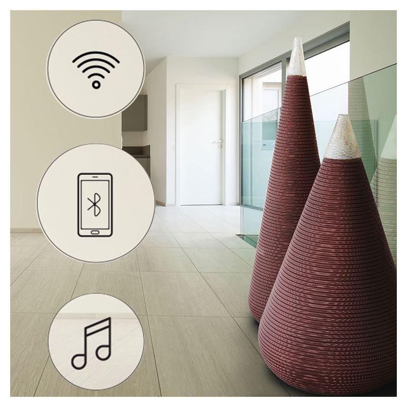 jarres music vase audio bluetooth xxl staygreen. Black Bedroom Furniture Sets. Home Design Ideas