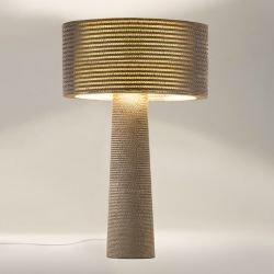 Lampe de sol géante éco-design MARILYN Staygreen, coloris kraft naturel