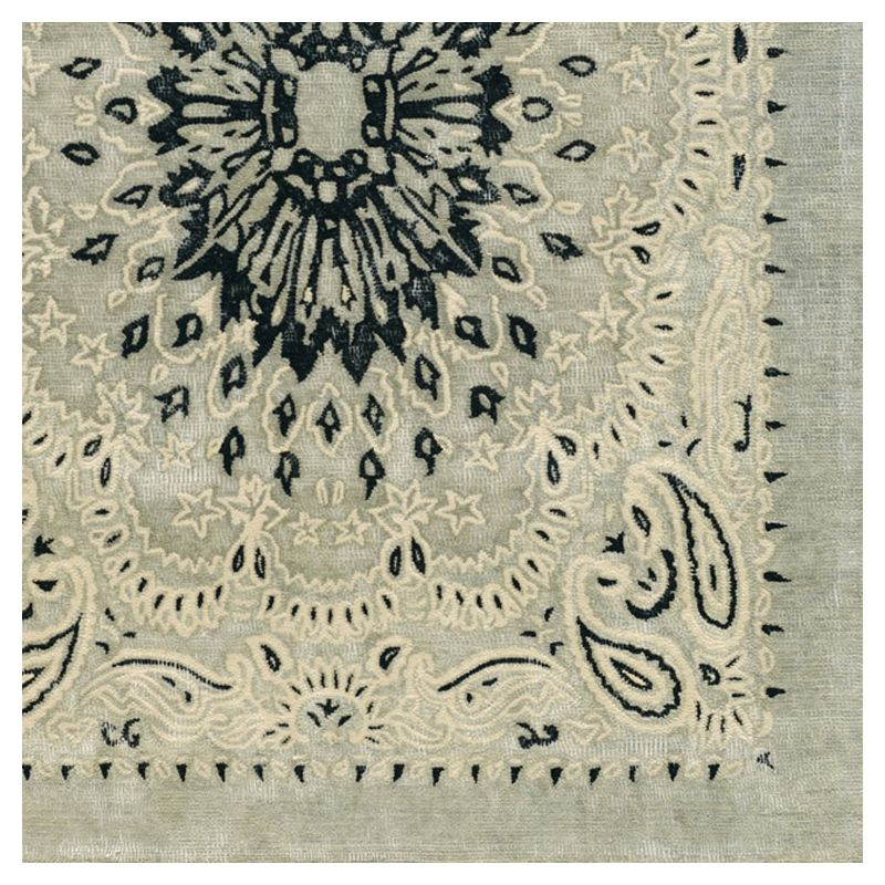 tapis design laine bandana toulemonde bochart. Black Bedroom Furniture Sets. Home Design Ideas