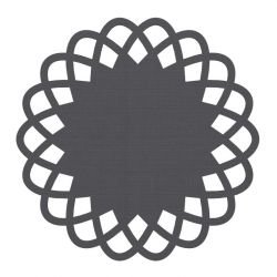 Tapis rond indoor outdoor ROSE Dickson