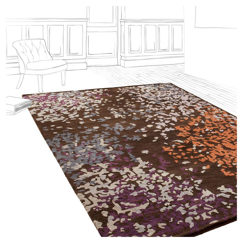 tapis design laine confettis toulemonde bochart. Black Bedroom Furniture Sets. Home Design Ideas