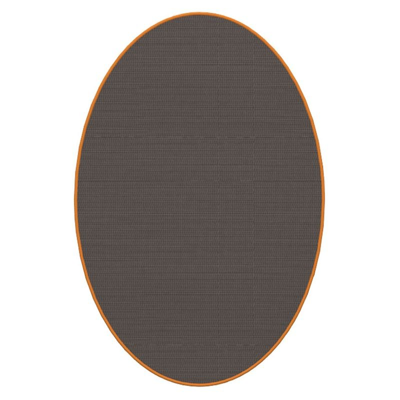 Tapis ovale ELLIPSE u00e0 galon Dickson, coloris Contraste U 528, galon ...