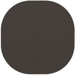 Tapis indoor outdoor en vinyle MARSHMALLOW Dickson, coloris Charbon U 526