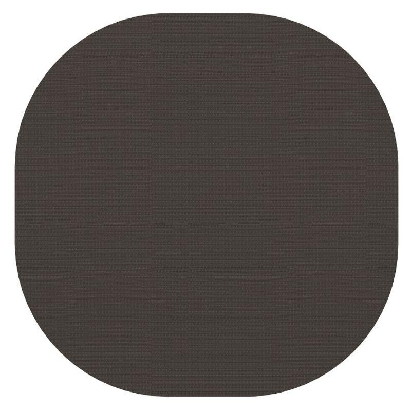Tapis indoor outdoor en vinyle MARSHMALLOW Dickson, coloris Charbon U 526