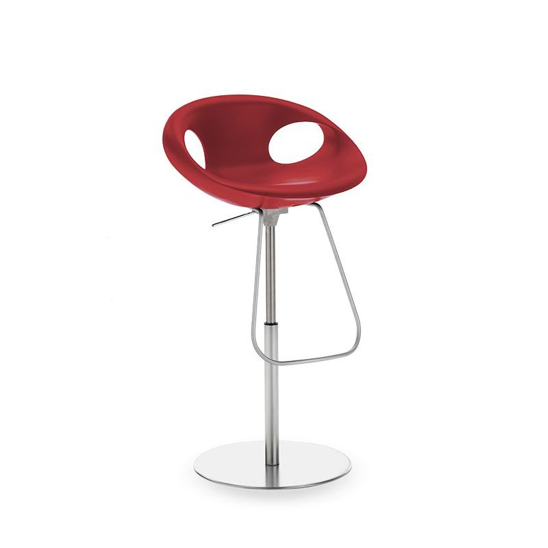 Up stool 907 51 chaise de bar hauteur r glable tonon - Chaise de bar reglable en hauteur ...