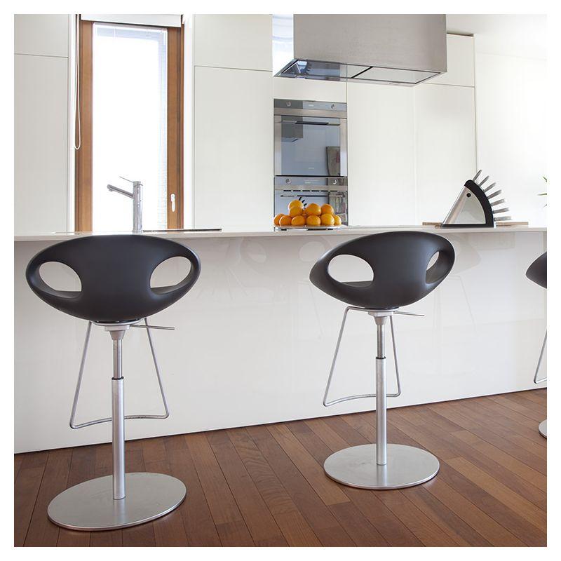 up stool 907 51 chaise de bar hauteur r glable tonon. Black Bedroom Furniture Sets. Home Design Ideas