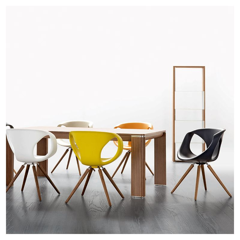 Up Chair Chaise Design Bois Polyuréthane Tonon