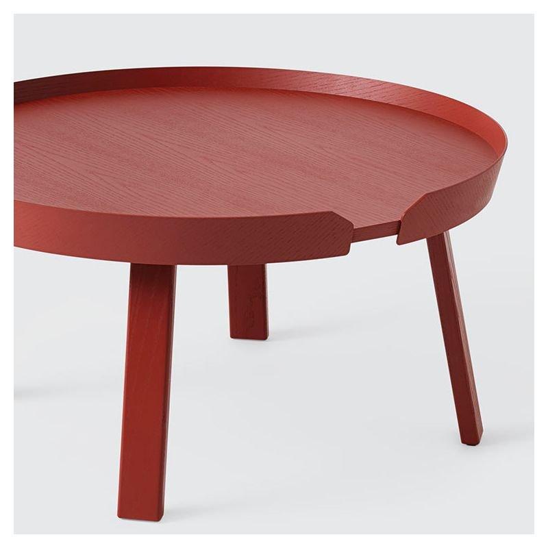 around large table de salon design scandinave muuto. Black Bedroom Furniture Sets. Home Design Ideas