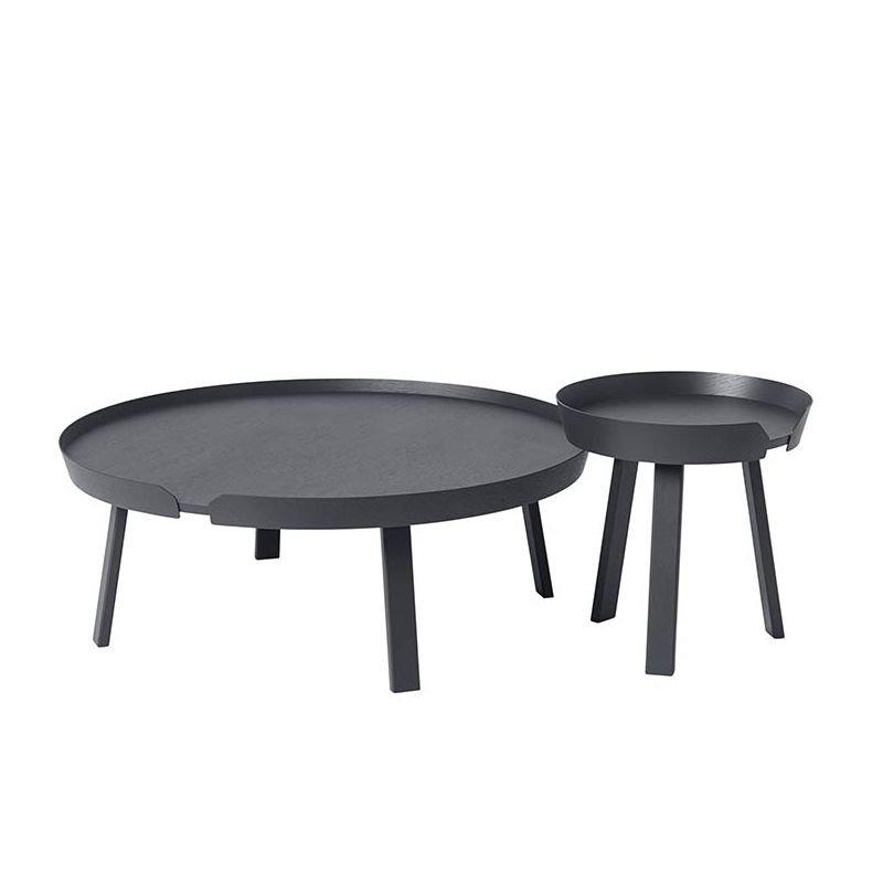 around xl table salon ronde muuto table basse ronde. Black Bedroom Furniture Sets. Home Design Ideas