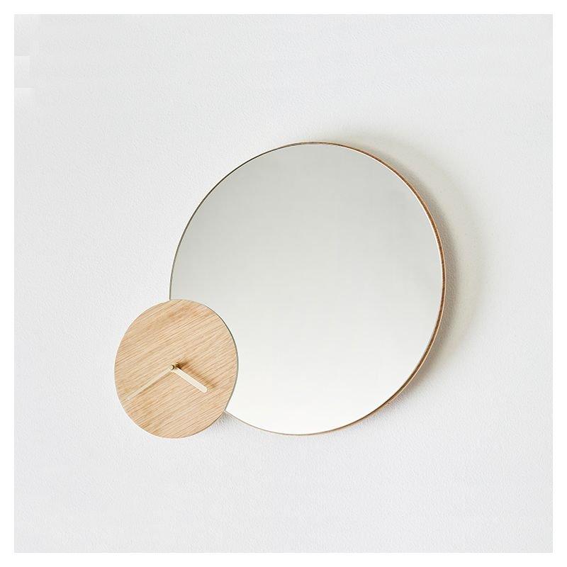 timewatch horloge miroir 2 en 1 woud design a nowak. Black Bedroom Furniture Sets. Home Design Ideas