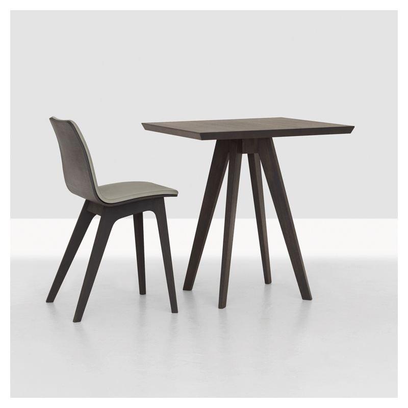 Cena table carr e en bois massif zeitraum - Table sejour carree ...