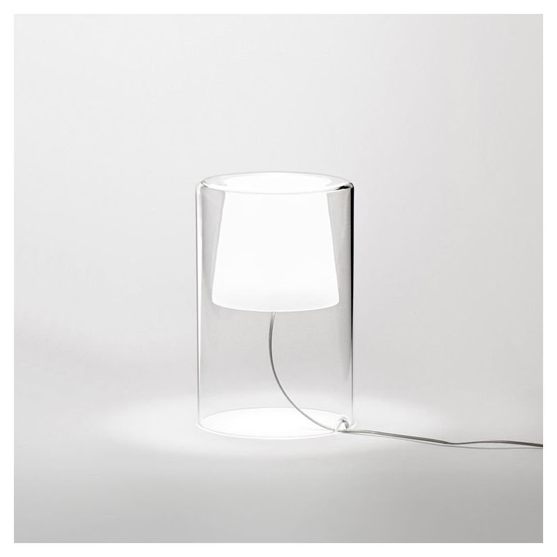 lampe de chevet en verre lampe de table join vibia petit. Black Bedroom Furniture Sets. Home Design Ideas