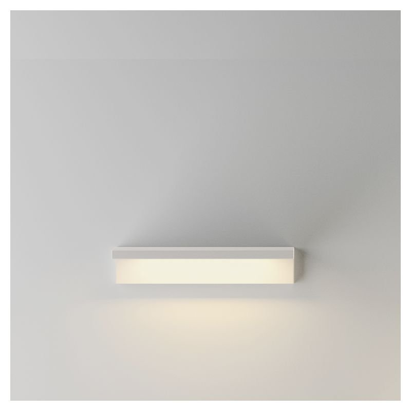 Étagère lumineuse LED SUITE Vibia, coloris blanc