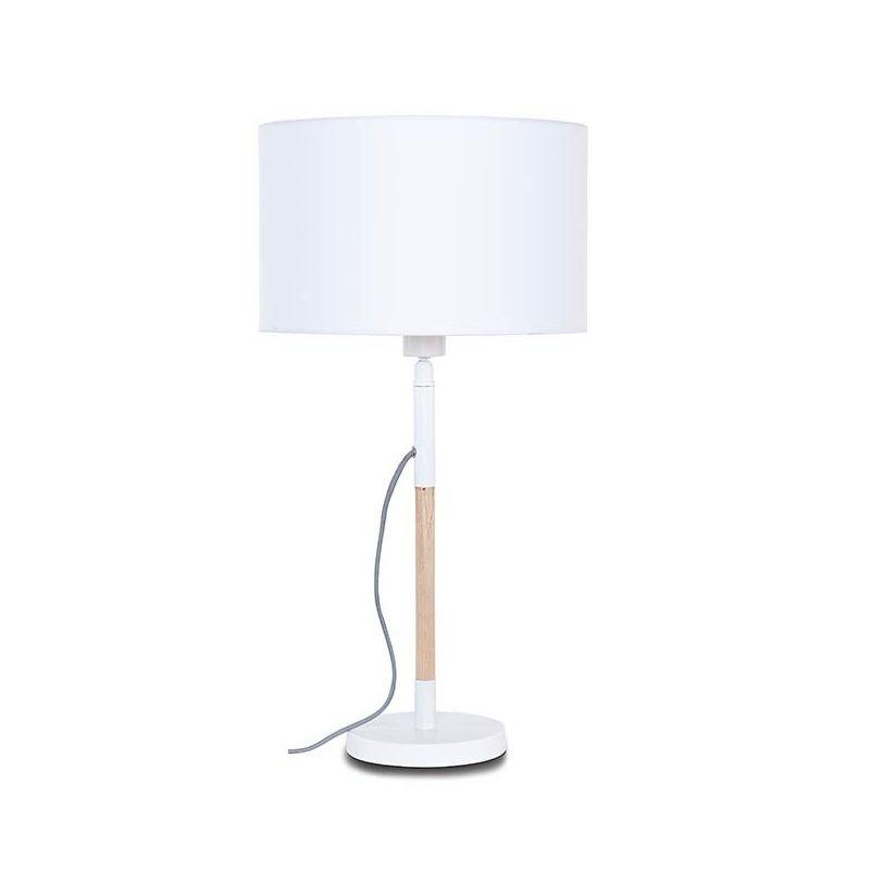 Lampe de table TORONTO It's About Romi, abat-jour blanc 25 x 25