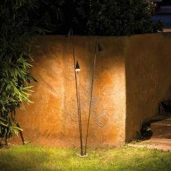 Lampe de sol outdoor 3 LEDs BRISA Vibia