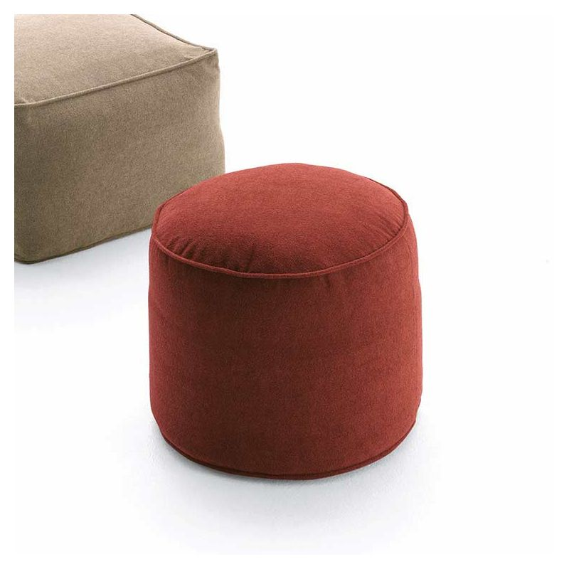 Pouf rond in & outdoor MOON Fast, Ø 45 cm