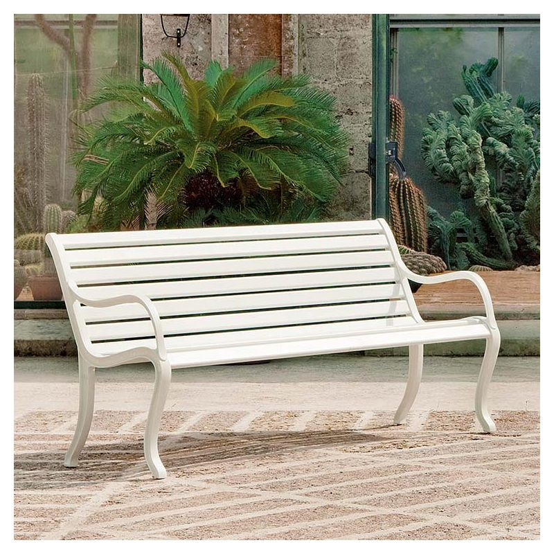 Best banc de jardin aluminium ideas design trends 2017 for Banc de jardin design