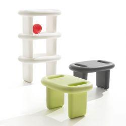 Tabourets SNOOP B-Line, utilisés en étagère