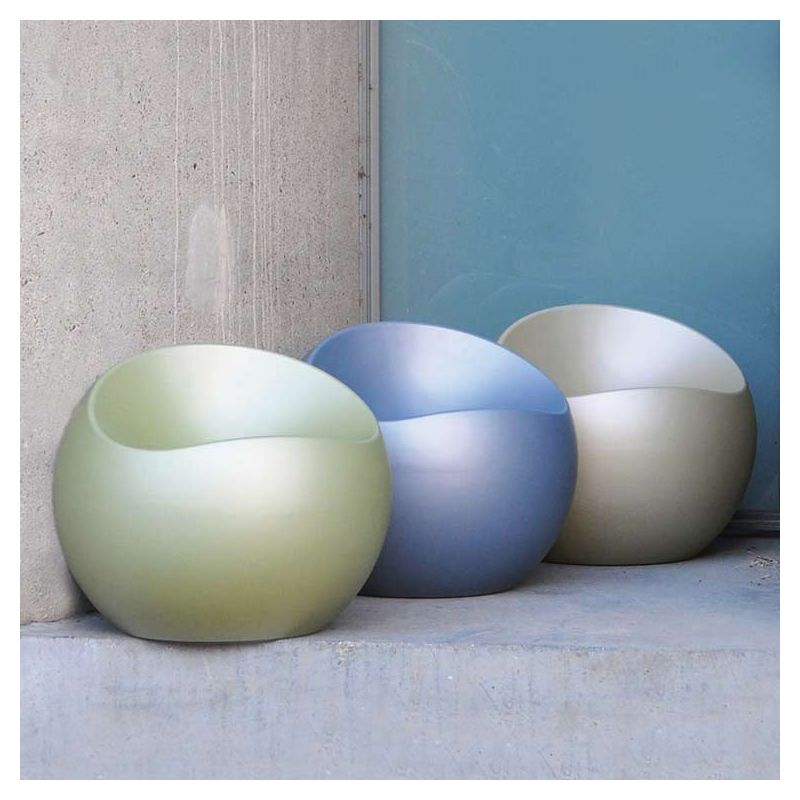 Poufs BALL CHAIR XL Boom coloris nacrés mats