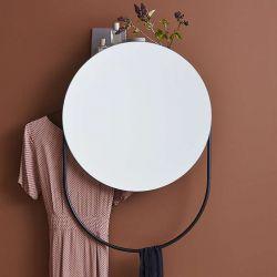 Miroir design rond multifonction VERDE Woud