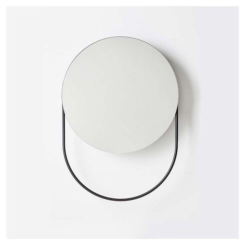 Verde miroir rond woud multifonction design r frost for Miroir rond chambre